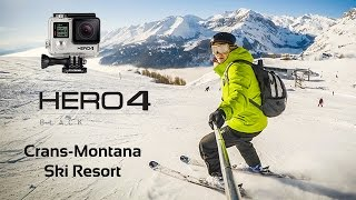 Crans Montana Switzerland  city pictures gallery : Skiing with GoPro Hero 4 Black | Crans-Montana ski resort , Switzerland | HD 1080p