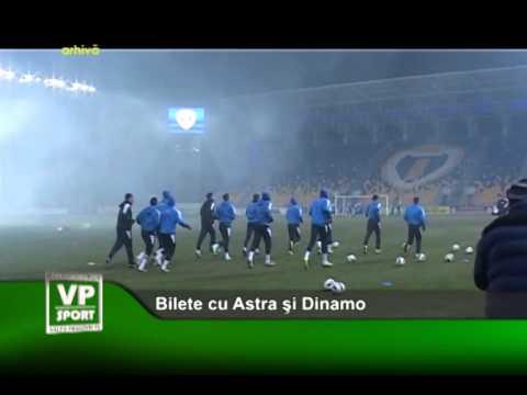 Bilete cu Astra si Dinamo