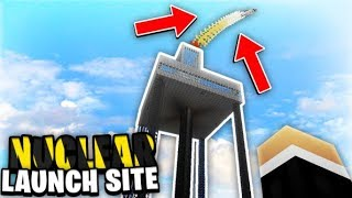 Our Nuclear Launch Area! | Minecraft WAR #76
