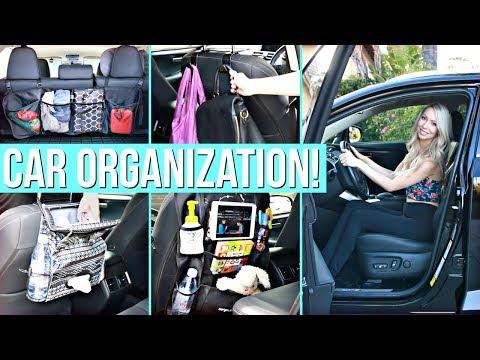 15 Clever Car Organization Ideas!