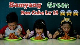 "Video SAMYANG GREEN BON CABE LEVEL 15 CHALLANGE INDONESIA "" KAYLA, KELVIN N NABILA "" MP3, 3GP, MP4, WEBM, AVI, FLV Mei 2019"