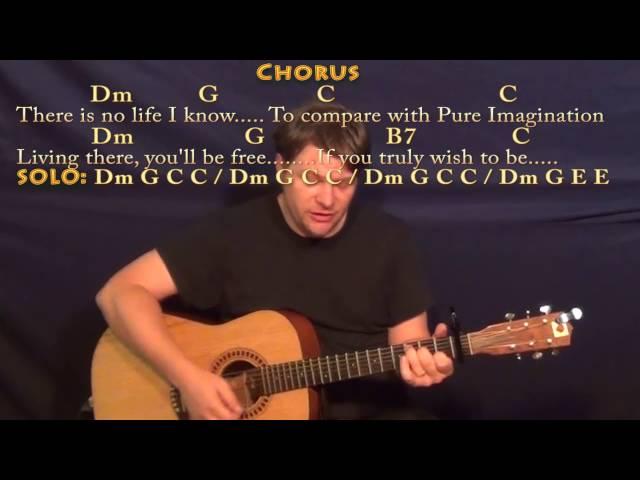 Pure imagination guitar chords