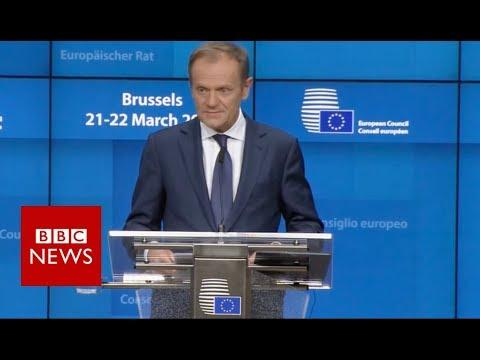 Brexit: EU leaders agree delay - BBC News