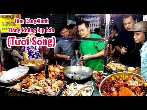 Xếp hàng ăn tôm càng xanh, tôm hùm hấp ( tươi sống) ở Sài Gòn | saigon travel Guide - Thời lượng: 17 phút.