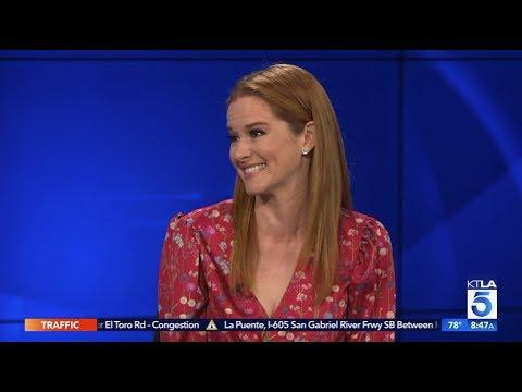 "Sarah Drew on her Emmy Nominated Web Series ""Grey's Anatomy: B Team"""