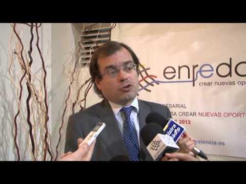 Joaquín Rios, Director General de Industria e IVACE en Enrédate Alzira