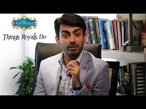 Theaters - Want to know exactly things that Royals do? Well here's Fawad Khan aka Prince Vikram from Khoobsurat explaining how to walk, speak and behave like a Royal. The movie is set to release on 19...