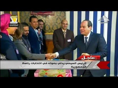 Al-Sisi bleibt mit etwa 90 Prozent der Stimmen Ägyp ...