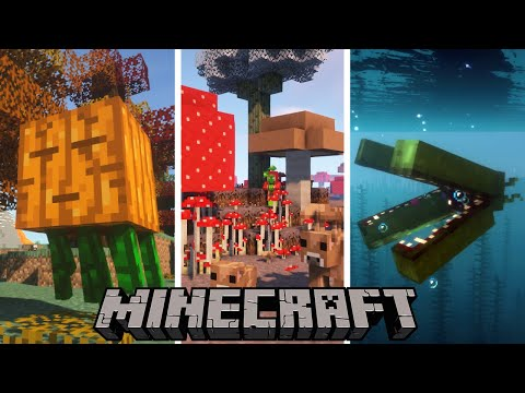 Top 10 Minecraft Mods Of The Week | Sculk Sensor, Biome Makeover, Mobile Beacon and More!