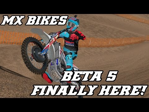 MX Bikes - Beta 5 Gameplay - First Ride - Washougal National 2016