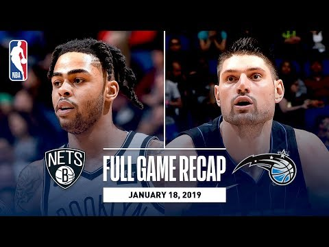 Video: Full Game Recap: Nets vs Magic | D'Angelo Russell Drops 40 In Orlando