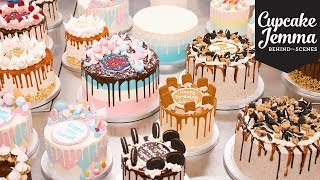 Behind The Scenes at C&D - Epic Cake Day! | Cupcake Jemma by Cupcake Jemma