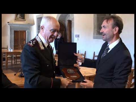 Il comandante generale dei Carabinieri in visita al Parco Nazionale delle Foreste Casentinesi