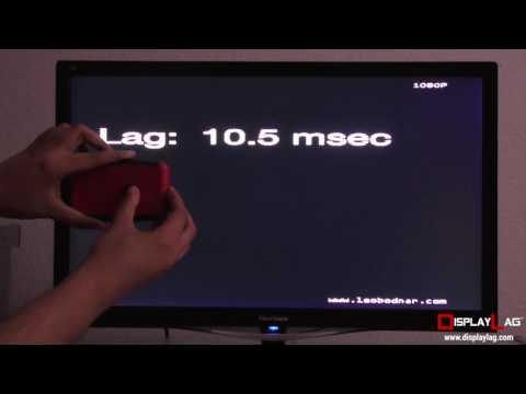 ViewSonic VX2457 Input Lag Test