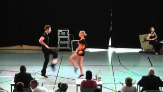 Ayline Spielmann & Philipp Sauter - Deutschland Cup 2012