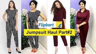*NEW* Jumpsuit Haul 2019 | Flipkart Jumpsuit Unboxing & Review | Best Dress for Summer