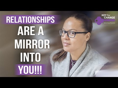Relationships are a manifestation of how we feel about our selves