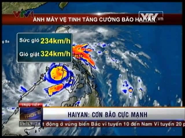Sức tàn phá của siêu bão Haiyan - Bão số 14 năm 2013