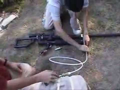 Rifle casero