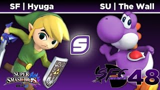SF | Hyuga vs SU | The Wall – SFC48 Grand Finals, the players regarded as the best Toon Link and best Yoshi (respectively)