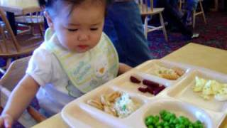 On daddy's April 21st birthday, we took daddy to soup plantation for a nice b-day meal. Katelyn was eating on her own too and she sure became an attraction at ...
