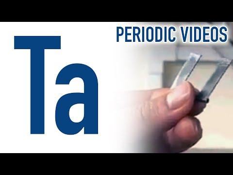 Tantalum - Periodic Table of Videos