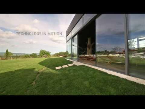 Automatische Glasfassadenöffnungen