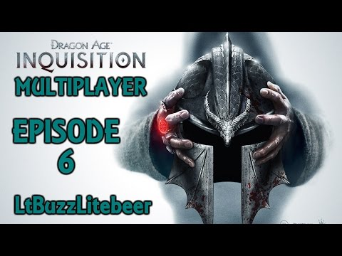 """Dragon Age Inquisition Online Multiplayer """"Let's Play"""" Episode 6 - Is Insane Difficulty Turned On?"""