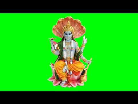 Green screen Vishnu god kinemaster chroma key video editor