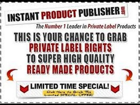 Instant Product Publisher Review