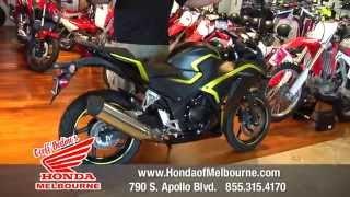 10. 2015 Honda CBR300R - Geoff Bodines Honda of Melbourne