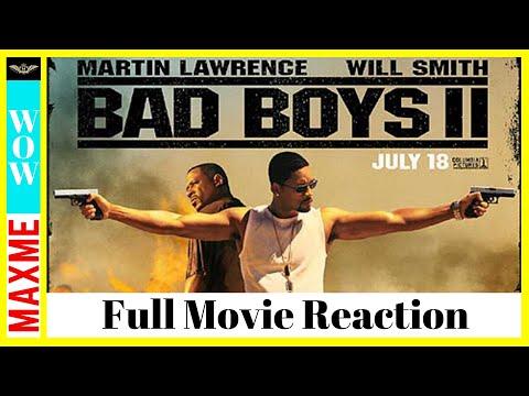BAD BOYS 2 Full Movie REACTION!!!