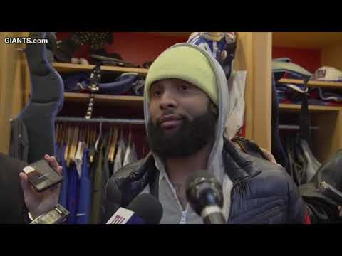 Video: Odell Beckham Jr talks about his quarterback: 'I Love Eli'