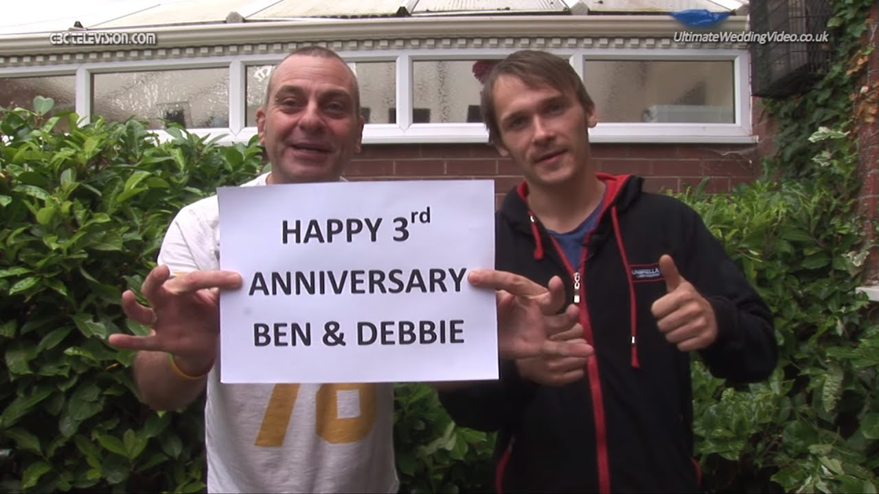 Happy 3rd Anniversary Ben & Debbie