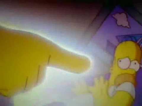 Homero va al cielo y conoce a Dios