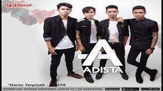 HARUS TERPISAH - ADISTA karaoke download ( tanpa vokal ) cover