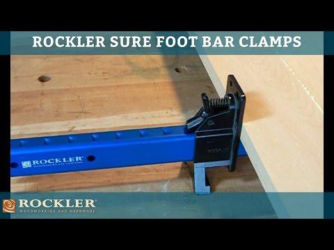 Sure Foot Bar Clamps