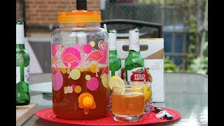 Learn how easy it is to make refreshing Shandy for those hot summer days, with simple step by step instructions from Chris De La Rosa of CaribbeanPot.com For this Shandy drink you'll need..4 beers (your fav - bottle or can)5 slices of ginger1 can frozen lemonade concentrate (about 1 1/4 cups)1 lemon (sliced)Please Support: https://www.patreon.com/caribbeanpotMore Caribbean recipes can be found at http://www.caribbeanpot.comPlease support my efforts @ https://www.patreon.com/caribbeanpotGet my Gourmand Award winning cookbook, The Vibrant Caribbean Pot - 100 Traditional And Fusion Recipes Vol 2 @ http://www.WestIndianFoodCompany.comConnect with Chris De La RosaFacebook: https://www.facebook.com/RealCaribbeanPot/Twitter: https://twitter.com/obzokeeInstagram: caribbeanpotContact: http://caribbeanpot.com/contact/Pinterest: http://www.pinterest.com/caribbeanpot/the-caribbean-pot/To learn more about Chris De La Rosa, you can visit http://www.ChrisDeLaRosa.com