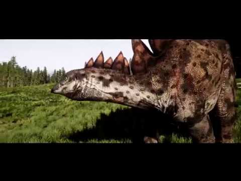 The Isle- Hyper Rex hunting stego family