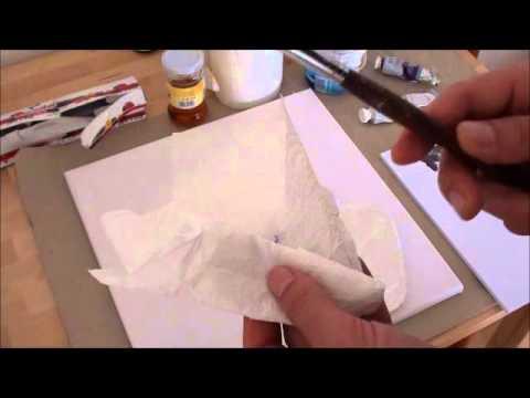 Tipps für Anfänger der Acrylmalerei (12): sechs kleine Tricks