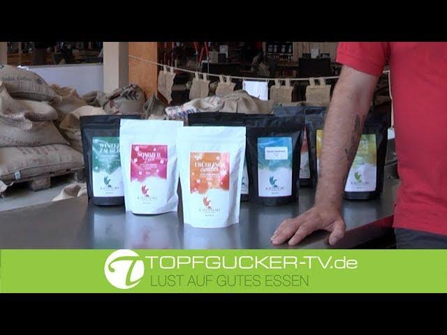 Filterkaffe mit getrockneten Erdbeeren - die Sommerspezialität aus dem Haus Kaffanero