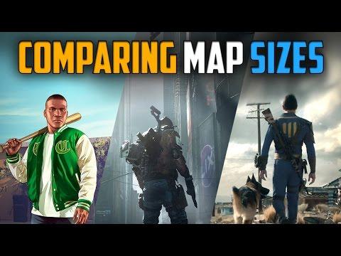 Карту The Division сравнили по размерам с GTA V и Fallout 4