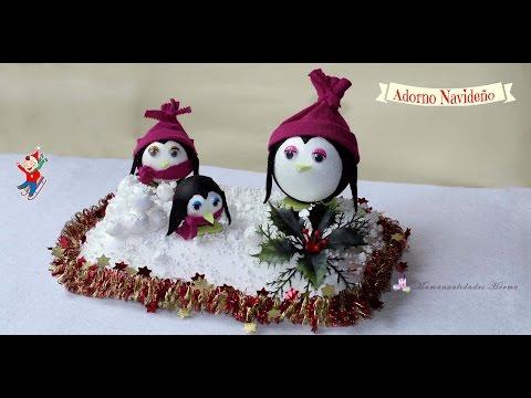 bricolage - pinguini natalizi