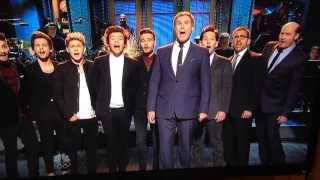 Download Lagu Anchorman crew and one direction on SNL Mp3