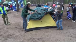Лёгкая двухместная туристическая палатка. Alexika Scout 2