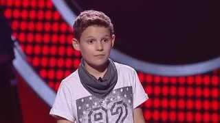 Pedro Goulão - Chuva - The Voice Kids