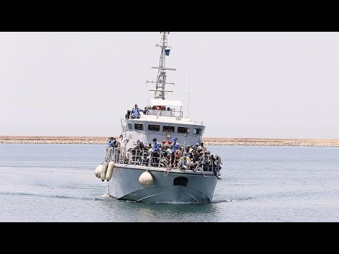 Die EU unterstützt die libysche Küstenwache