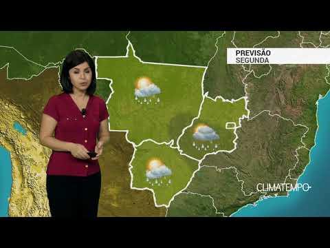 Imagens Segunda-feira - Previsão Centro-Oeste – Segunda-feira de mais chuva