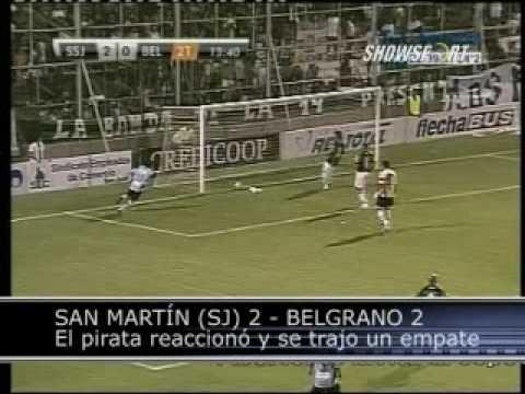 San Martín de San Juan vs Belgrano