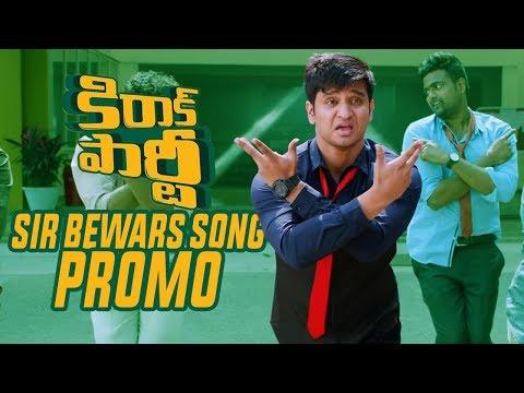Sir Bewars Song Promo | KIRRAK PARTY | Nikhil | Samyuktha | Simran Pareenja